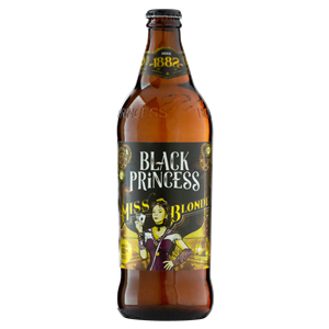 Cerveja Black Princess Miss  Blonde Extra tipo Blonde Ale 600ml
