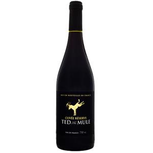 Vinho Francês Ted The Mule Grenache Syrah Tinto 750ml