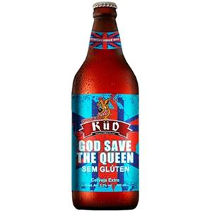 Cerveja Kud God Save the Queen Sem Gluten 600ml
